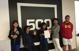 5 Finalist Participants at 500 Startups