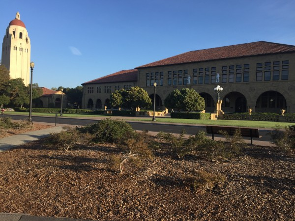 Mr. Sometani's trip included a visit to Stanford University, where participants were lectured on the history of Silicon Valley.